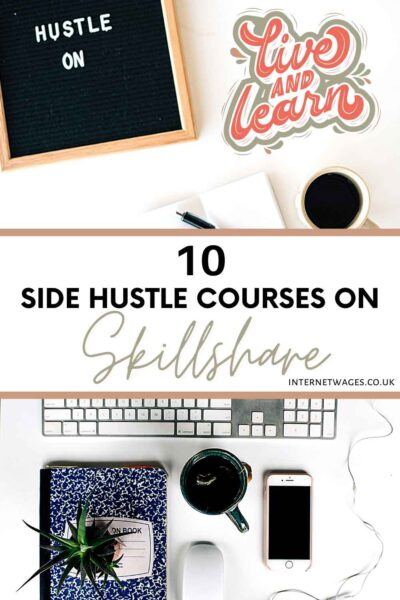 10 Side Hustle Courses on Skillshare