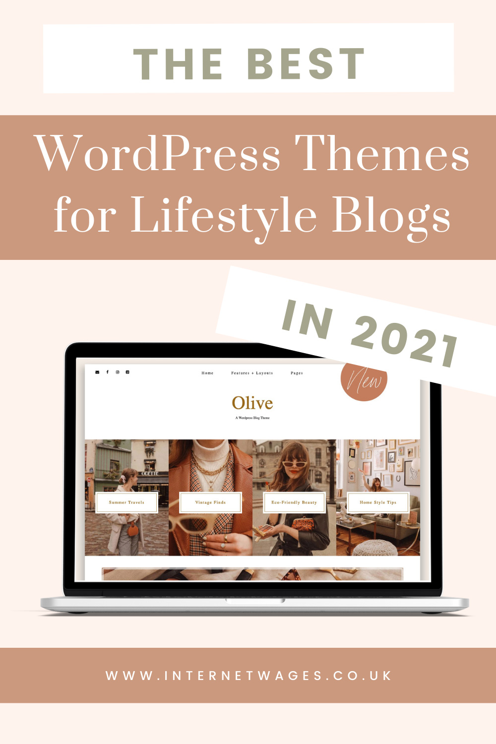 The Best WordPress Themes for Lifestyle Bloggers in 2021.