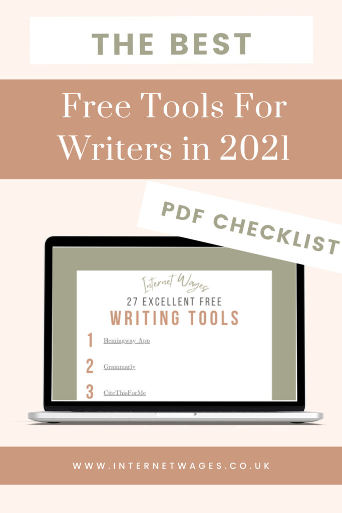 The Best Free Tools For Writers in 2021