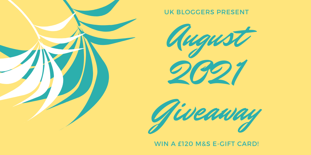 August 2021 UK Giveaway £120 M&S Gift Card