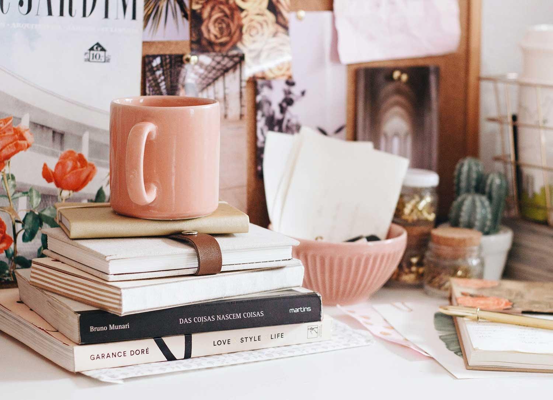 Feminine Home Office Photography