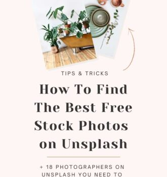 How To Find The Best Free Stock Photos on Unsplash