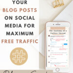 How To Share Your Blog Posts on Social Media for Maximum Free Traffic