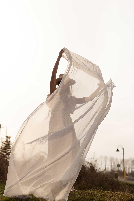 Dreamy Aesthetic Fashion Photo