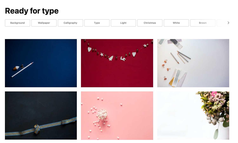 Ready For Type Free Stock Photos